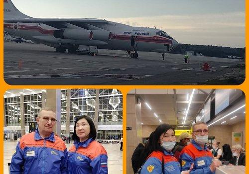 Наши коллеги Тюменской больницы вошли в состав сводного медицинского отряда ФМБА России