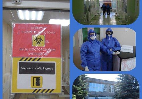 с 19.10.2020 года Тюменская больница ФЗГБУЗ ЗСМЦ ФМБА перепрофилирована в моноинфекционный госпиталь.