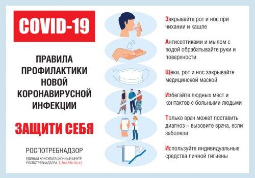 Правила соблюдения мер безопасности во время эпидемии коронавируса